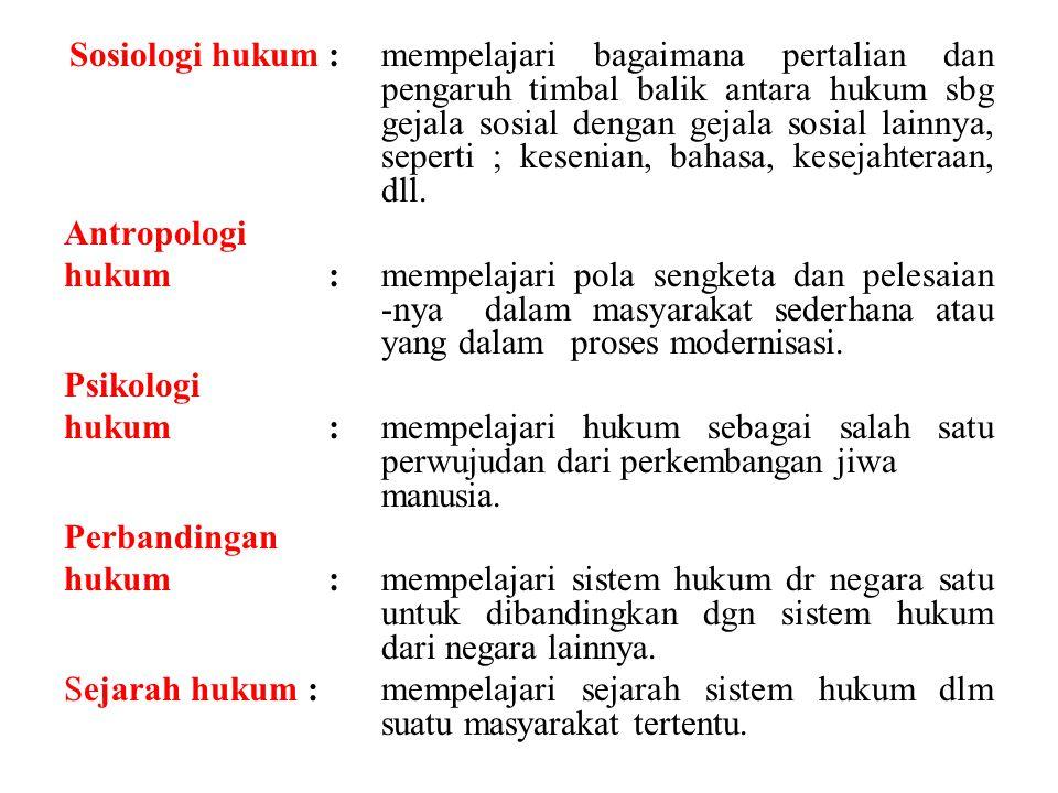 POLITIK hukum Adalah disiplin hukum yang mengkhususkan pada usaha untuk memerankan hukum dalam mencapai tujuan yg dicita-citakan masyarakat ybs, artinya mencakup memilih kegiatan dan menerapkan nilai.