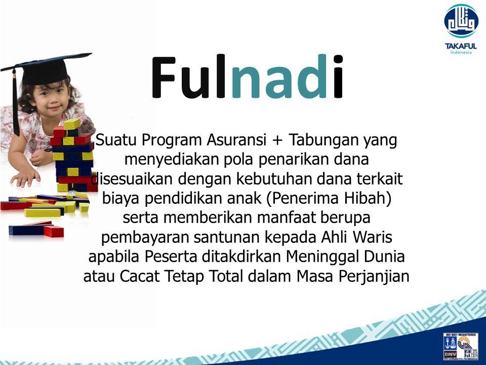 Suatu Program Asuransi + Tabungan yang menyediakan pola penarikan dana disesuaikan dengan kebutuhan dana terkait biaya pendidikan anak (Penerima Hibah
