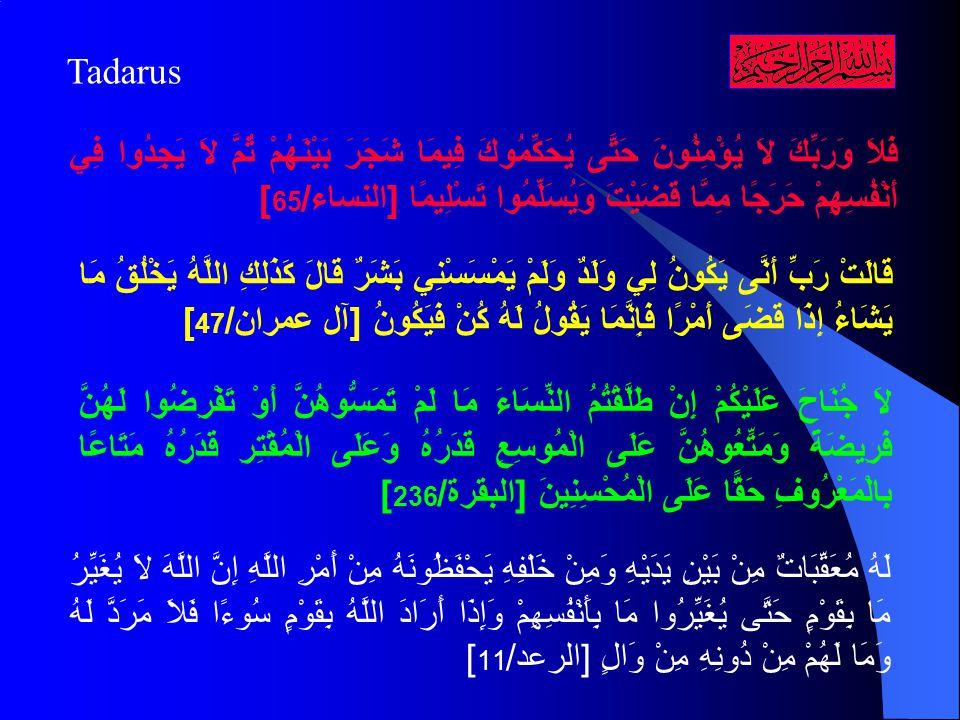 A.Pengertian Qadha dan Qadar 1.
