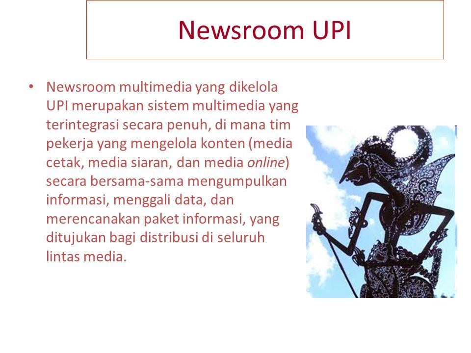 Media Cetak Media cetak Koran UPI, Tabloid UPI/Majalah UPI, Jurnal UPI sangat strategis untuk mengembangkan jurnalisme pendidikan.