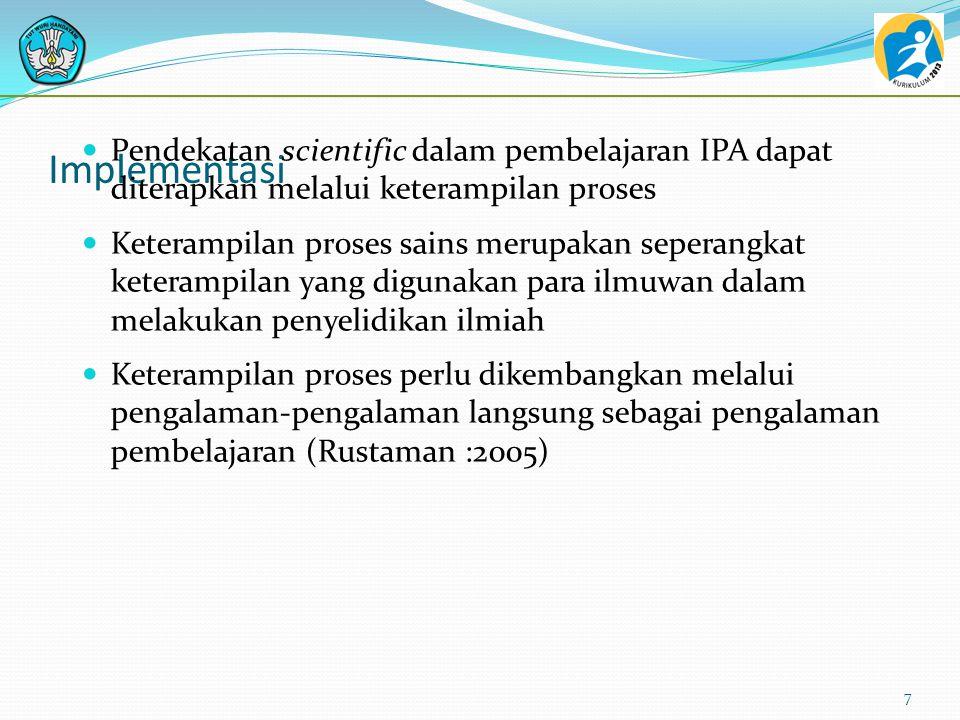 Definisi PBL PBL adalah pembelajaran yang didasari oleh dorongan penyelesaian masalah 57 …the learning which result from the process of working towards the understanding of, or resolution of, a problem. (Barrows & Tamblyn, 1980)