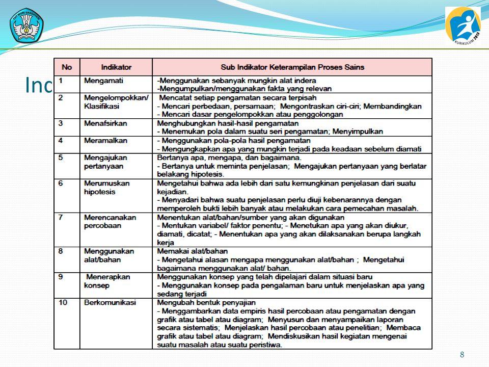 Pelaksanaan Penilaian terintegrasi pada komponen: - penyusunan proposal, - pelaksanaan proses produksi, - laporan, - kegiatan, - dan kulminasi 48