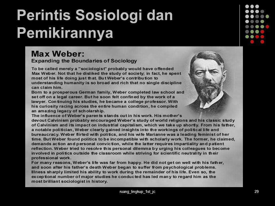 ruang_lingkup_1st_jc29 Perintis Sosiologi dan Pemikirannya
