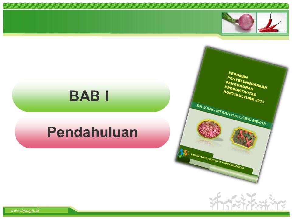 www.themegallery.com www.bps.go.id Latar Belakang (1) Metode pengumpulan data tanaman hortikultura selama ini masih berdasarkan metode pelaporan.