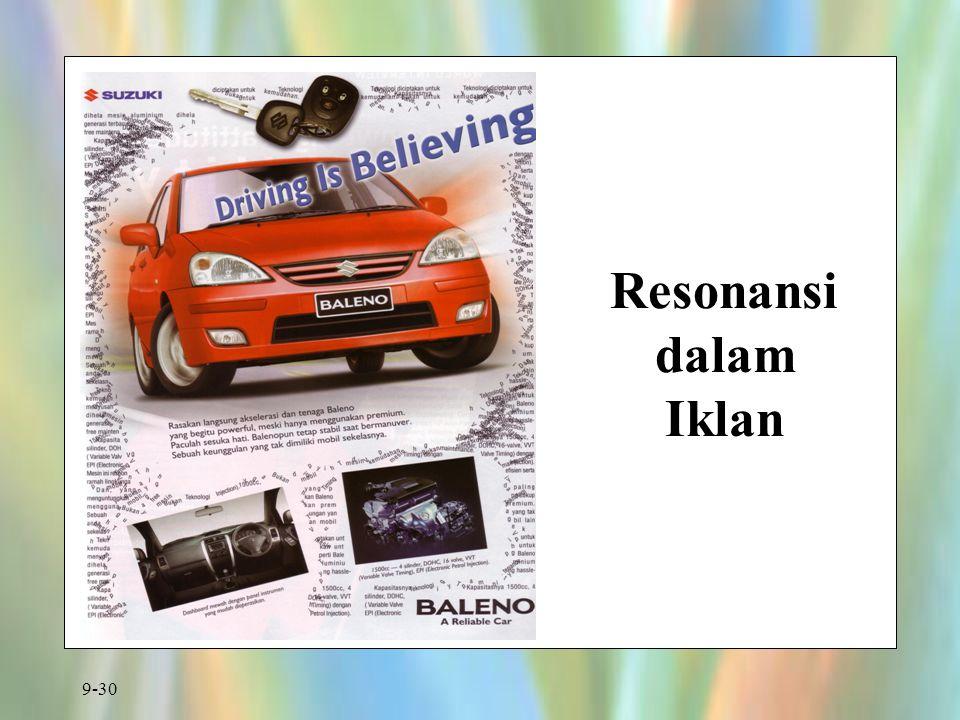 9-30 Resonansi dalam Iklan