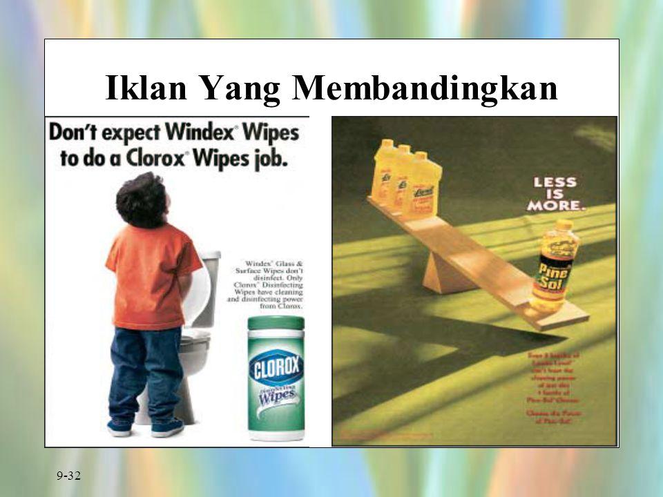 9-32 Iklan Yang Membandingkan