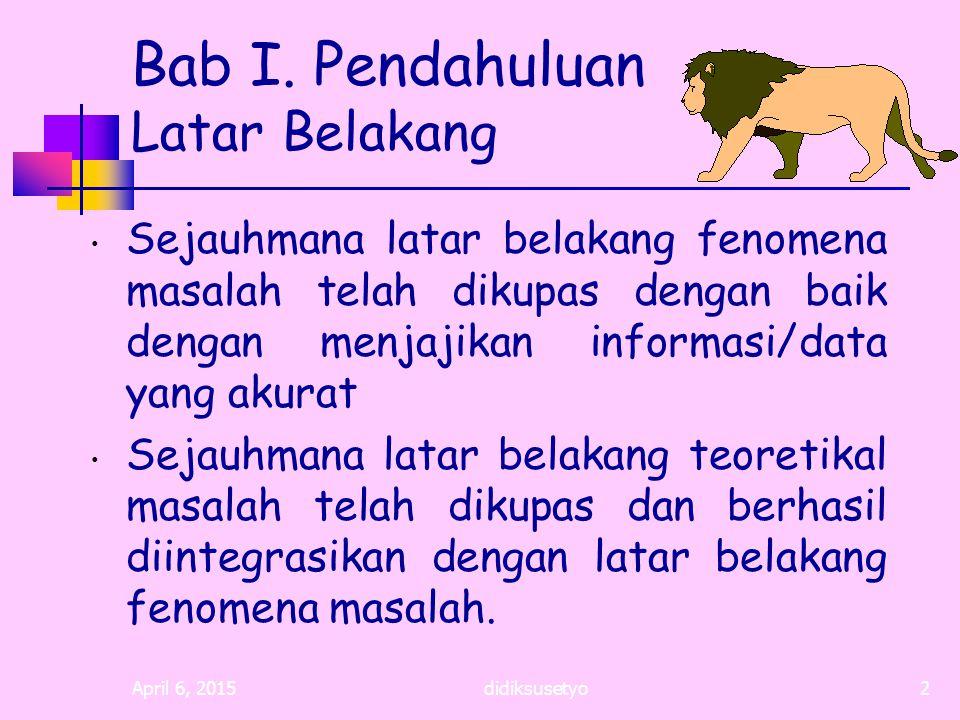 April 6, 2015didiksusetyo22 Daftar Bacaan Arief, Sritua, 1993.