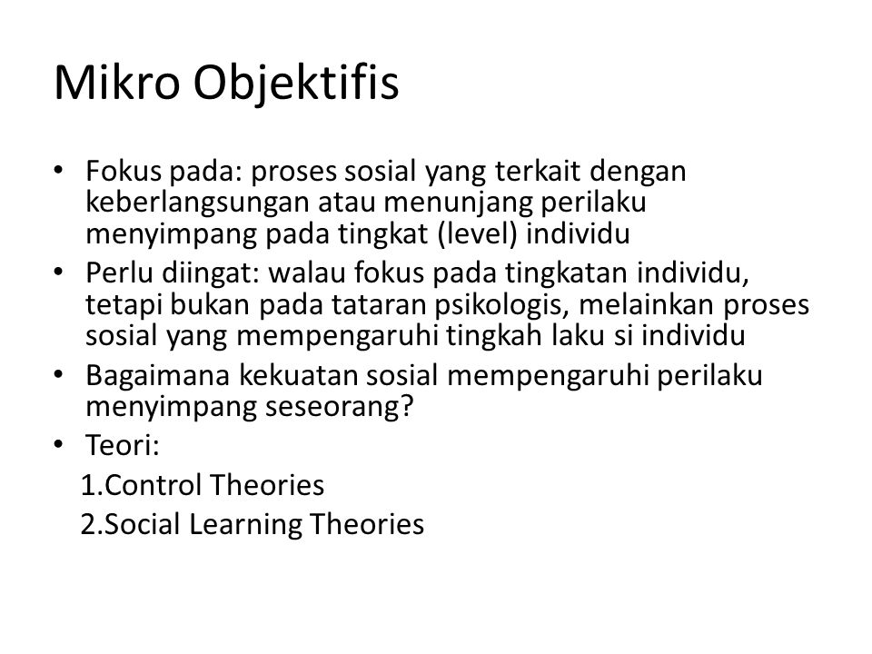 2.Social Learning Theories A.Differential Association Theory (Edwin H.