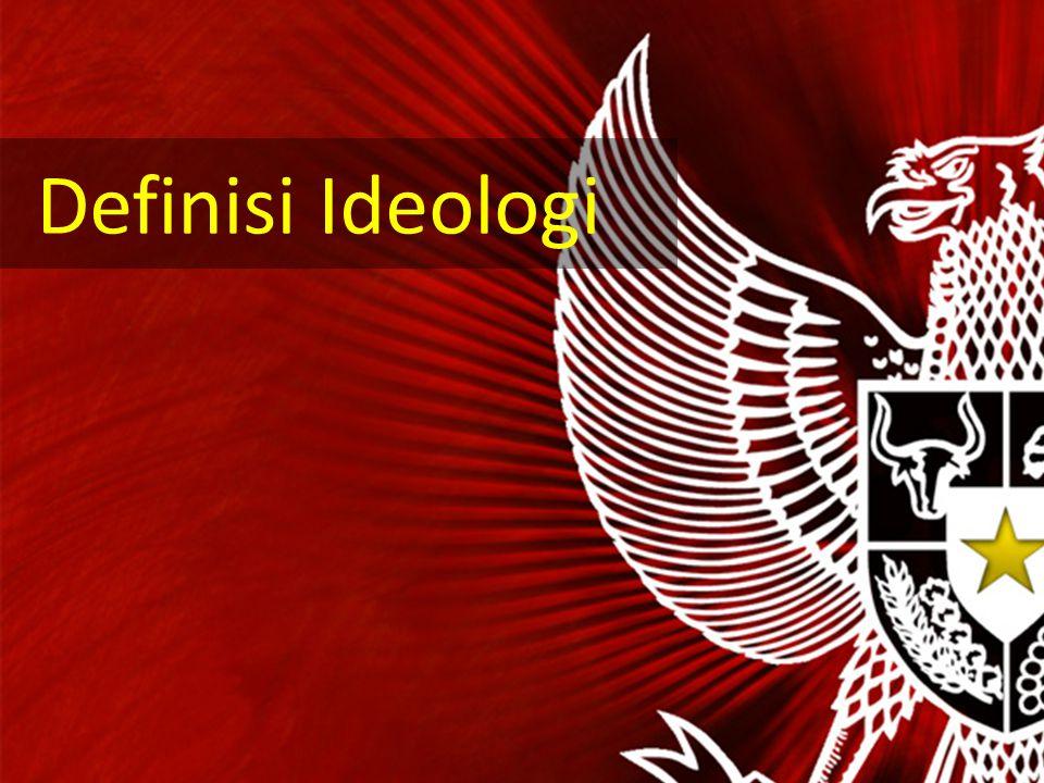 Secara etimologis, ideologi berasal dari bahasa Yunani yaitu eidos dan logos. Eidos berarti gagasan dan logos berarti berbicara (ilmu). Jadi secara et