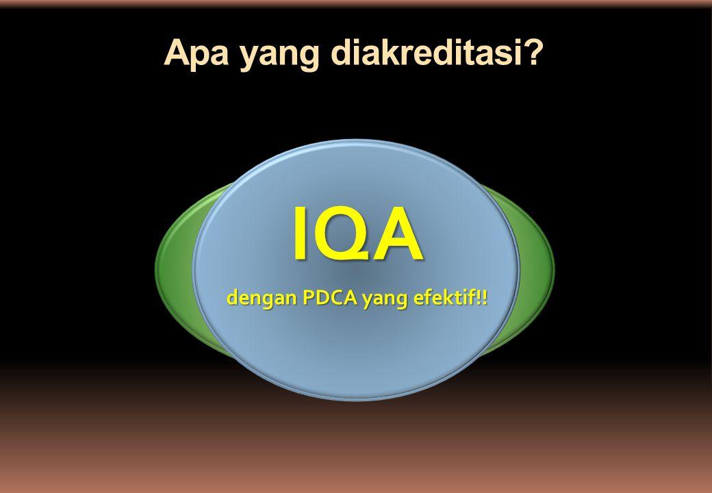 TQM  QMS Perguruan Tinggi/PS Apa yang diakreditasi? IQA dengan PDCA yang efektif!!