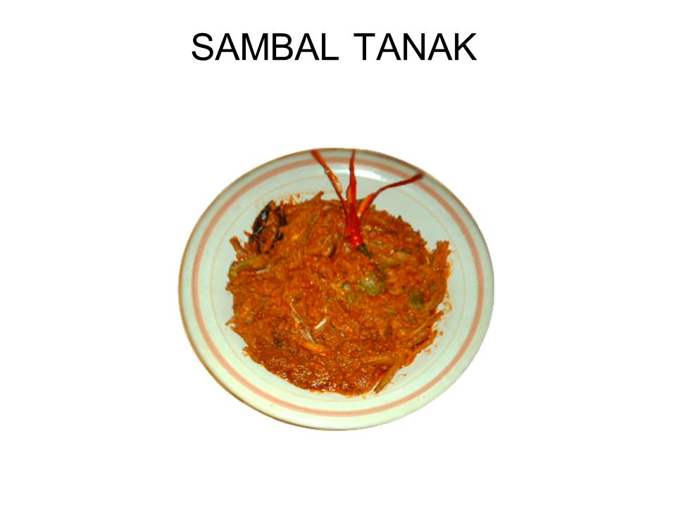 SAMBAL TANAK