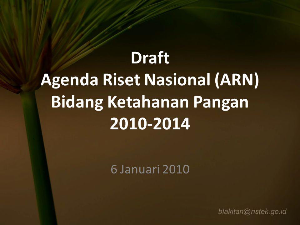 Program ARN 2010-2014 (lanjutan) 2.
