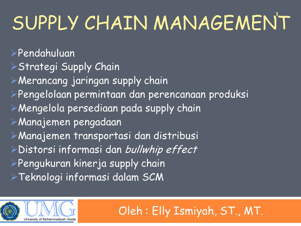 Supply Chain Strategy or Design  Keputusan mengenai struktur supply chain dan proses- proses apa yang akan ditunjukkan oleh setiap stage  Keputusan supply chain strategic  Lokasi dan kapasitas dari sebuah fasilitas  Produk yang akan dibuat atau disimpan pada lokasi yang berbeda  Mode transportasi  Sistem Informasi  Desain supply chain harus mendukung tujuan strategis 12