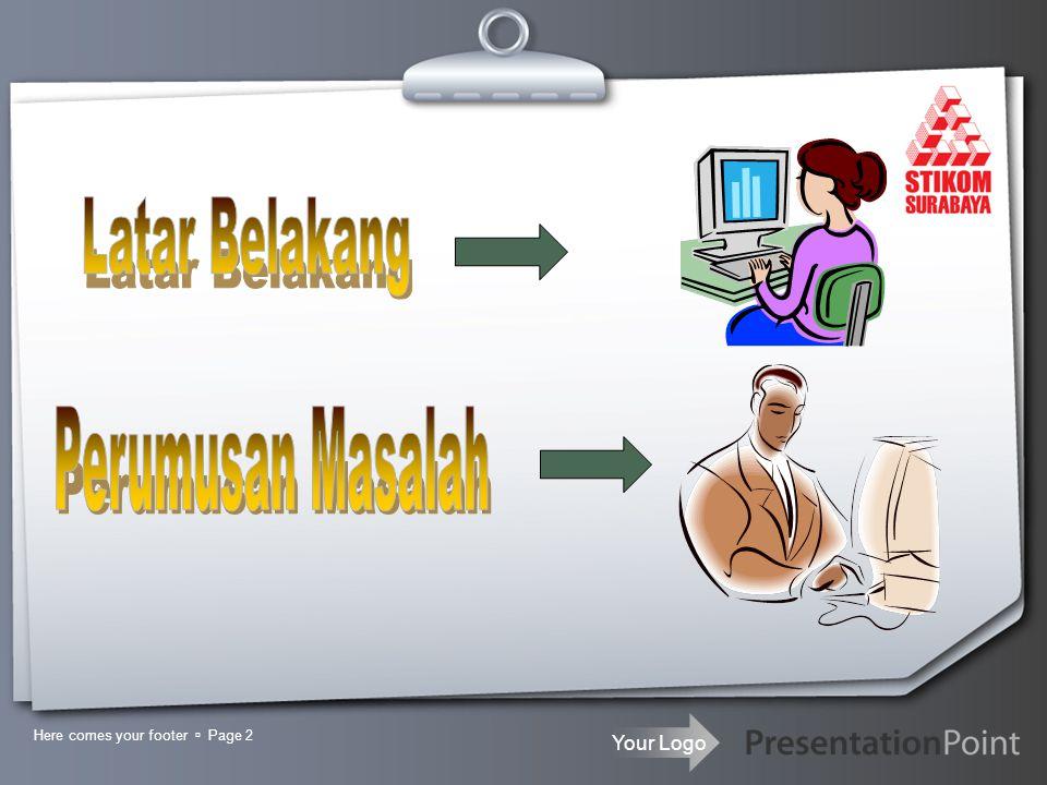 Your Logo Here comes your footer  Page 3 PerMintaan Informasi Informasi Siswa Admin