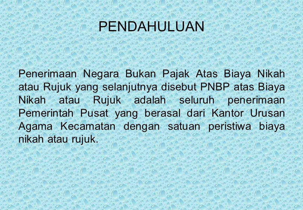 Supervisi Administrasi Nikah dan Rujuk Supervisi pelaksanaan kegiatan Nikah Rujuk merupakan kegiatan Pengendalian Internal yang dilakukan UPT Urusan Agama Islam di tingkat Kabupaten/Kota.