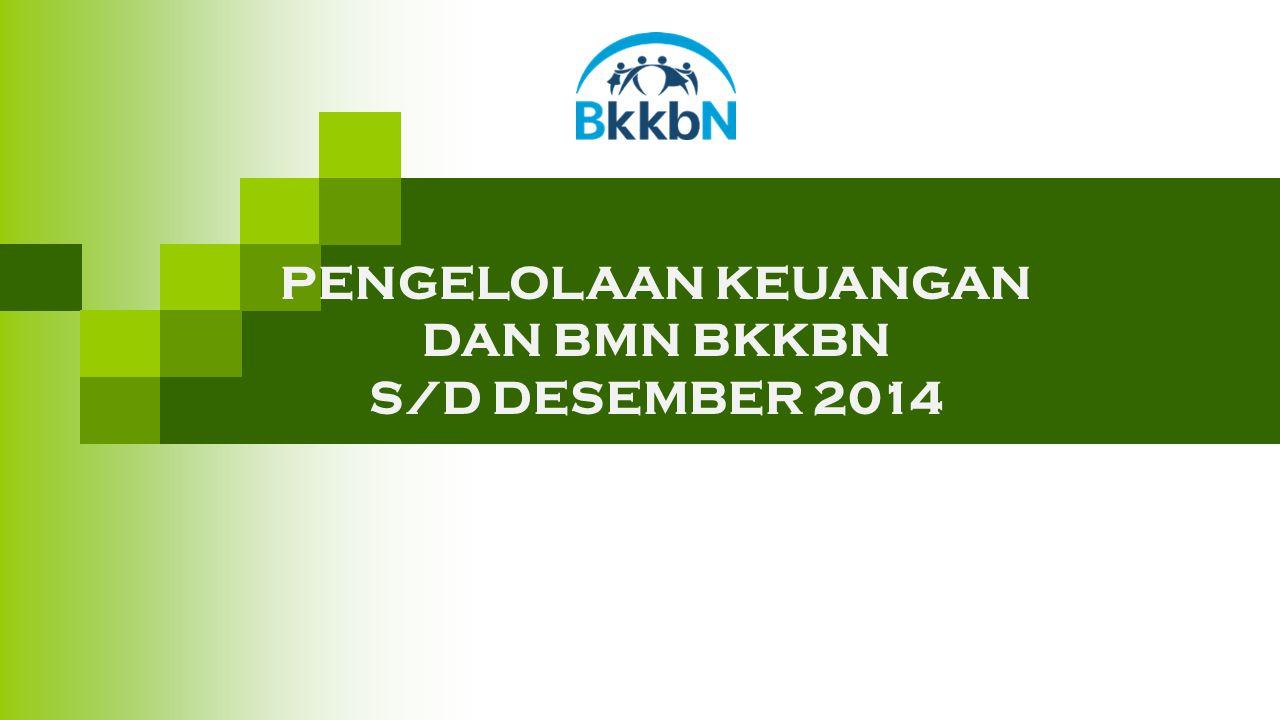 PENGELOLAAN KEUANGAN DAN BMN BKKBN S/D DESEMBER 2014