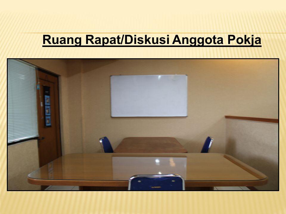 Ruang Rapat/Diskusi Anggota Pokja