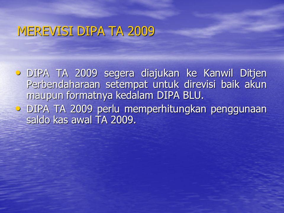 MENYUSUN RBA TA 2010 RBA TA 2010 harus segera disusun dan dsampaikan ke K/L karena K/L harus menyampaikan RKA K/L ke Ditjen Anggaran pada tgl 28 Pebruariu 2009 hal ini terkait dengan PEMILU.