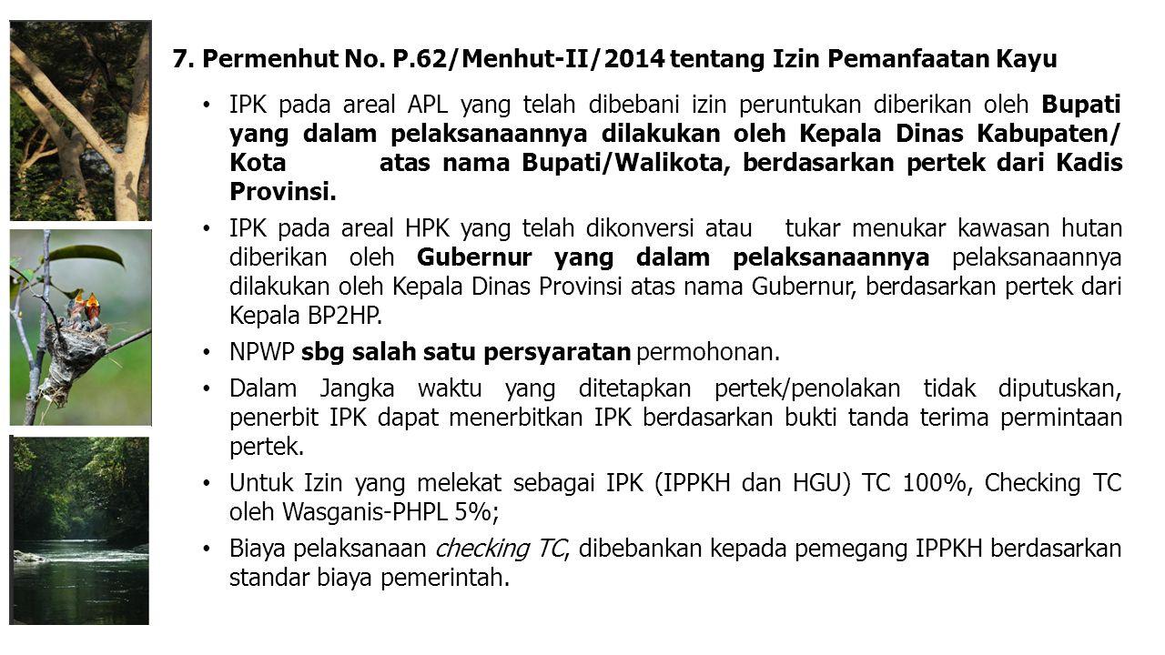 IPK pada areal APL yang telah dibebani izin peruntukan diberikan oleh Bupati yang dalam pelaksanaannya dilakukan oleh Kepala Dinas Kabupaten/ Kota ata