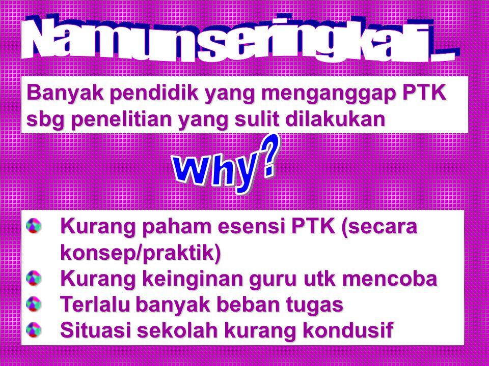 Bagaimana cara mengidentifikasi masalah PTK?