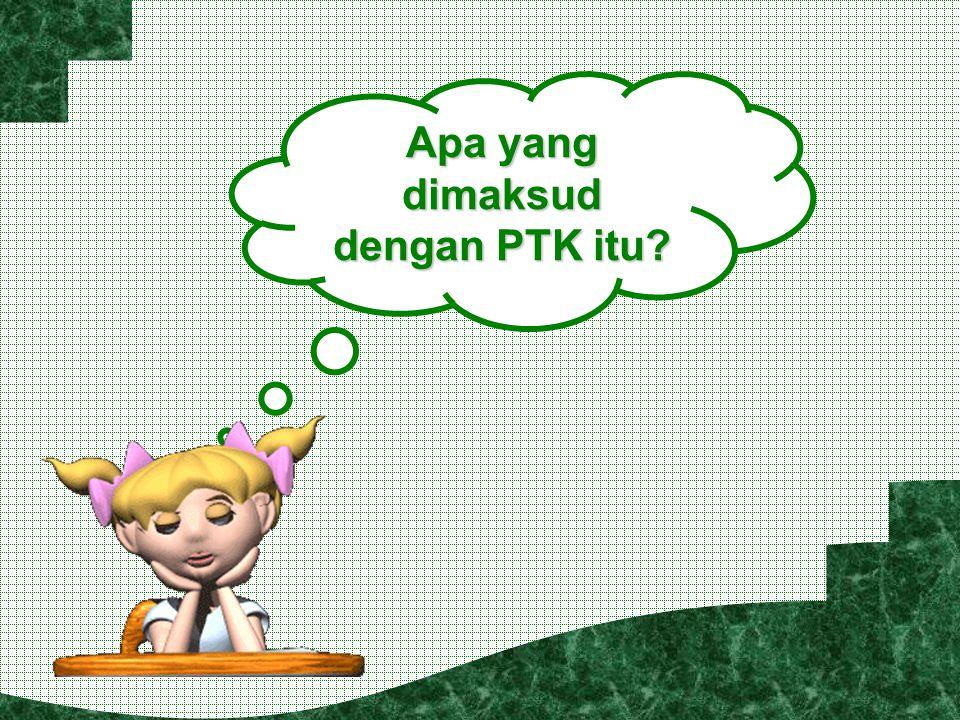 Apa yang dimaksud dengan PTK itu?