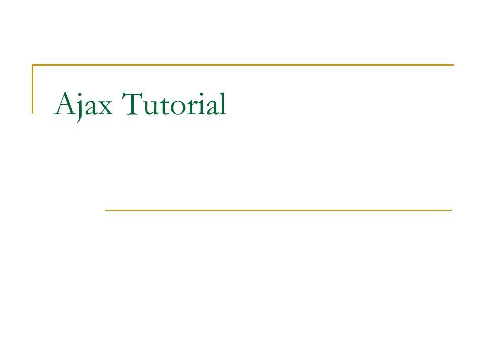 Pendahuluan AJAX memiliki kepanjangan Asynchronous Javascript And XML merupakan suatu teknik baru dalam dunia web.