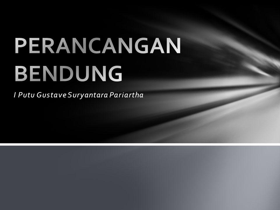 BENDUNG GERAK TIPE RADIAL DI SUNGAI BENGAWAN SOLO (TAMPAK BELAKANG)