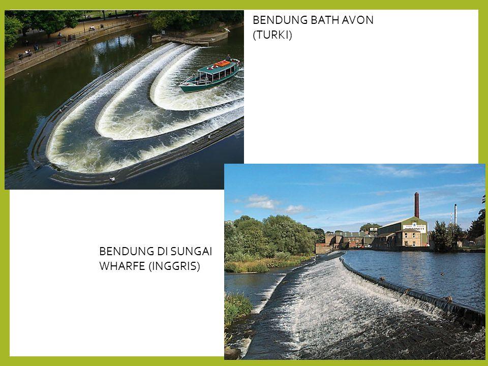 BENDUNG BATH AVON (TURKI) BENDUNG DI SUNGAI WHARFE (INGGRIS)