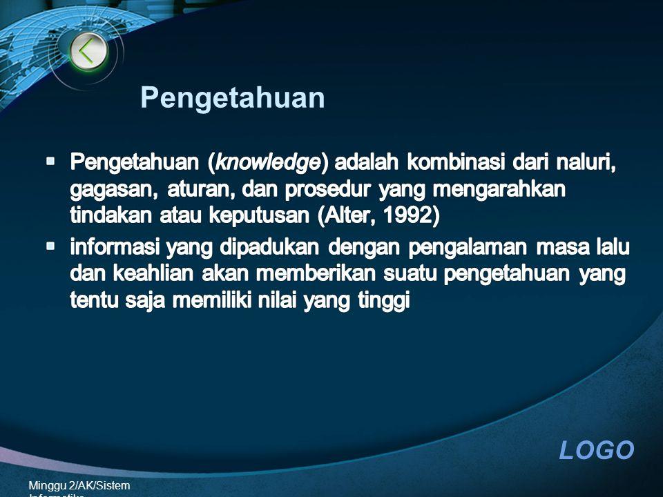 LOGO Minggu 2/AK/Sistem Informatika Pengetahuan