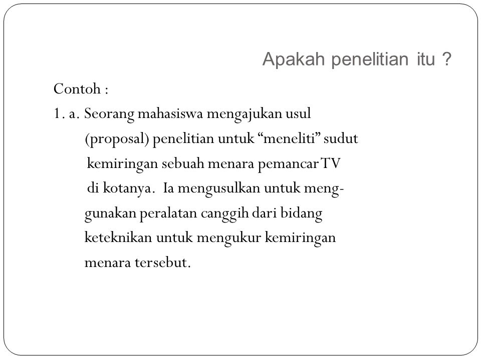Karakteristik Penelitian 16 6.