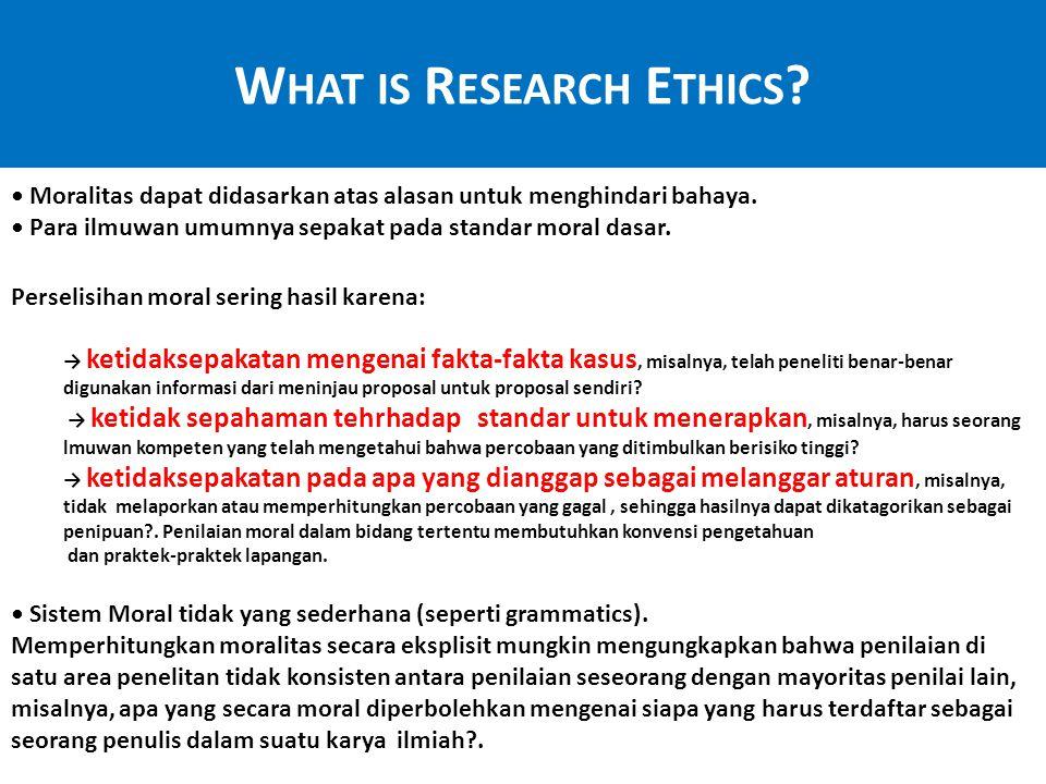 Tiga kategori, memerlukan berbagai jenis tanggapan (menyusul laporan dari Nat.