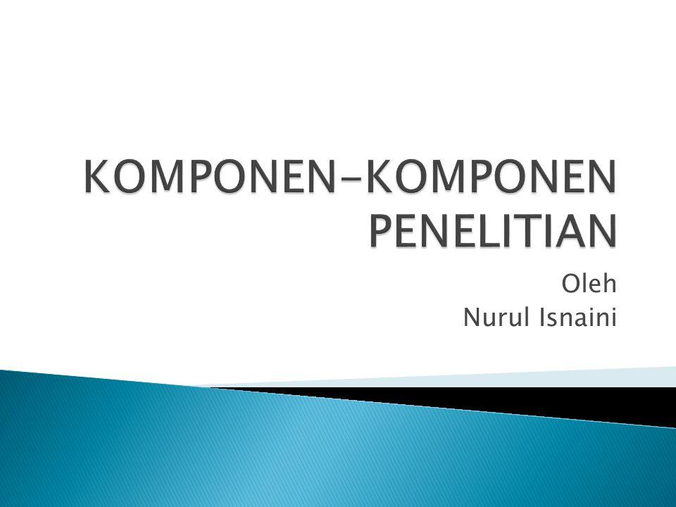 Oleh Nurul Isnaini