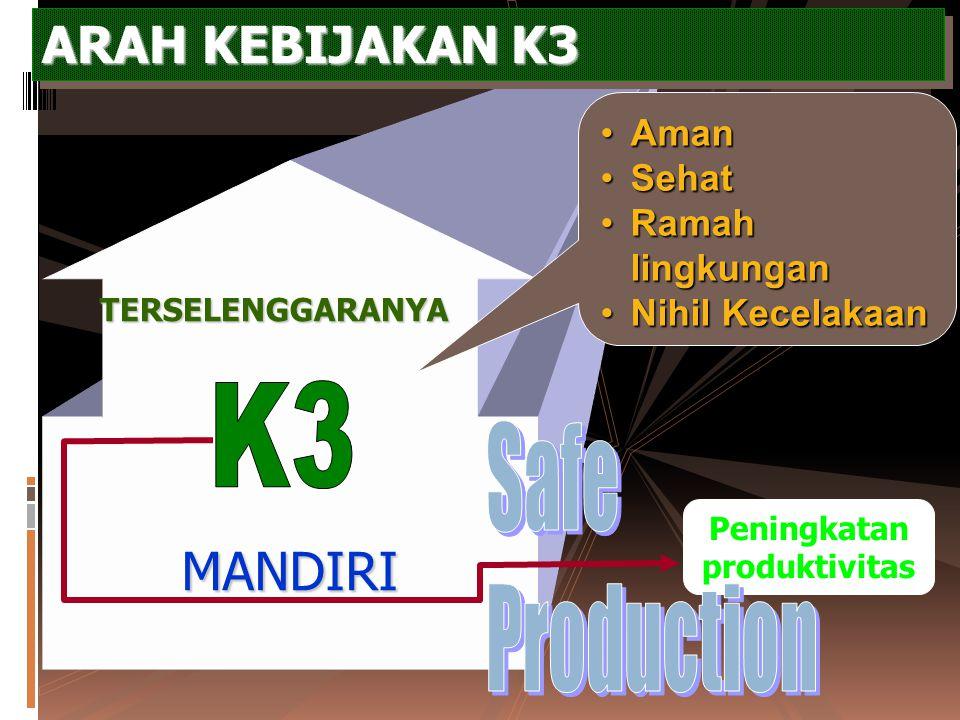 Peran Organisasi K3 Dalam Perusahaan 1. Sebagai LOSS CONTROL untuk mengendalikan kerugian atau inefisiensi 2. Sebagai COMPLIANCE AGENT untuk meyakinka