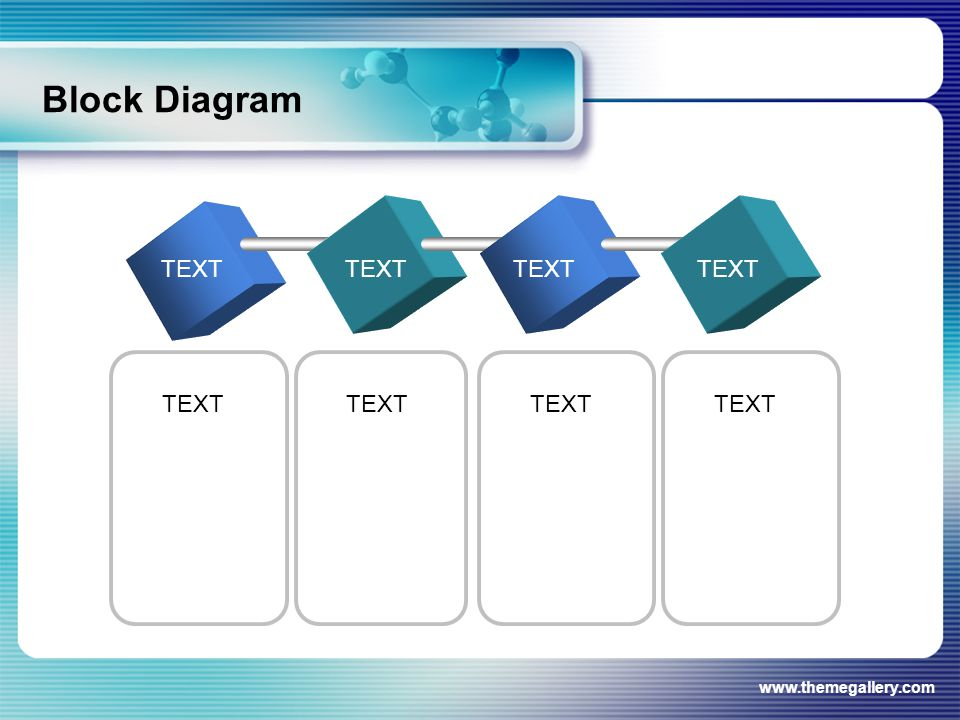 www.themegallery.com Block Diagram TEXT