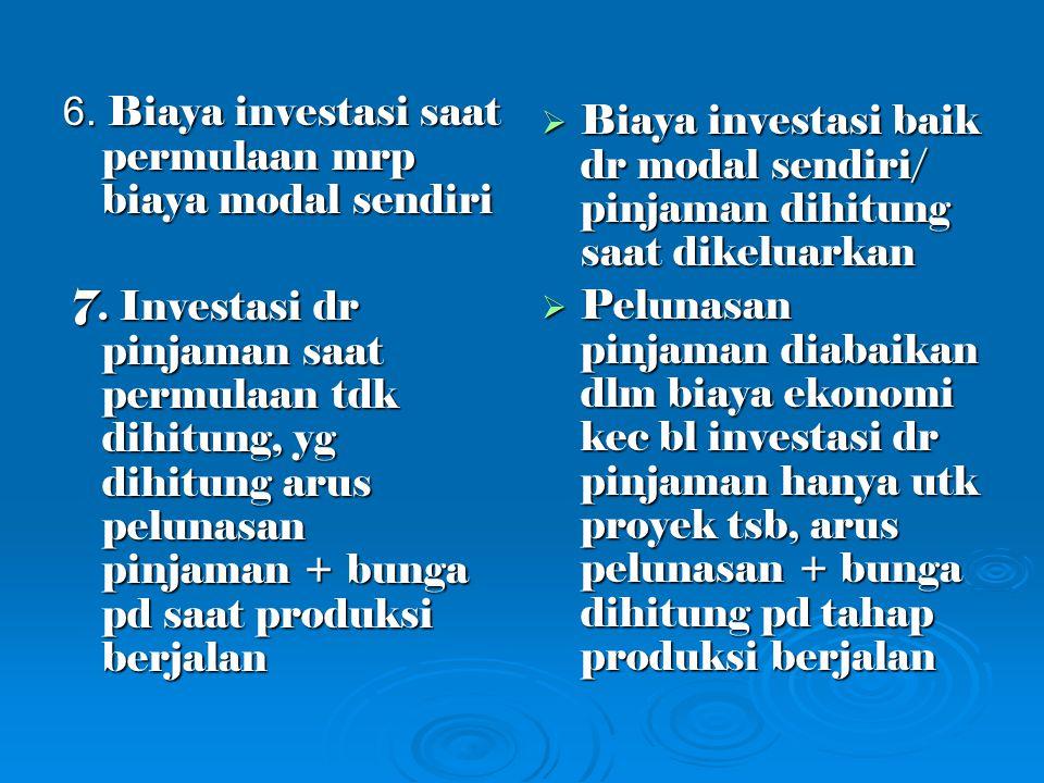 Ex Analisa Finansial dan Ekonomi  Bahan bakar minyak diproduksi pertamina dgn harga dalam negeri 3.000/lt.