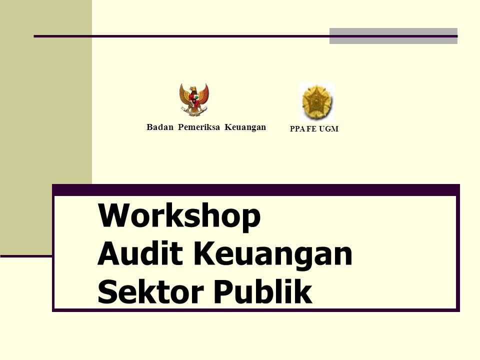 Workshop Audit Keuangan Sektor Publik Badan Pemeriksa Keuangan PPA FE UGM