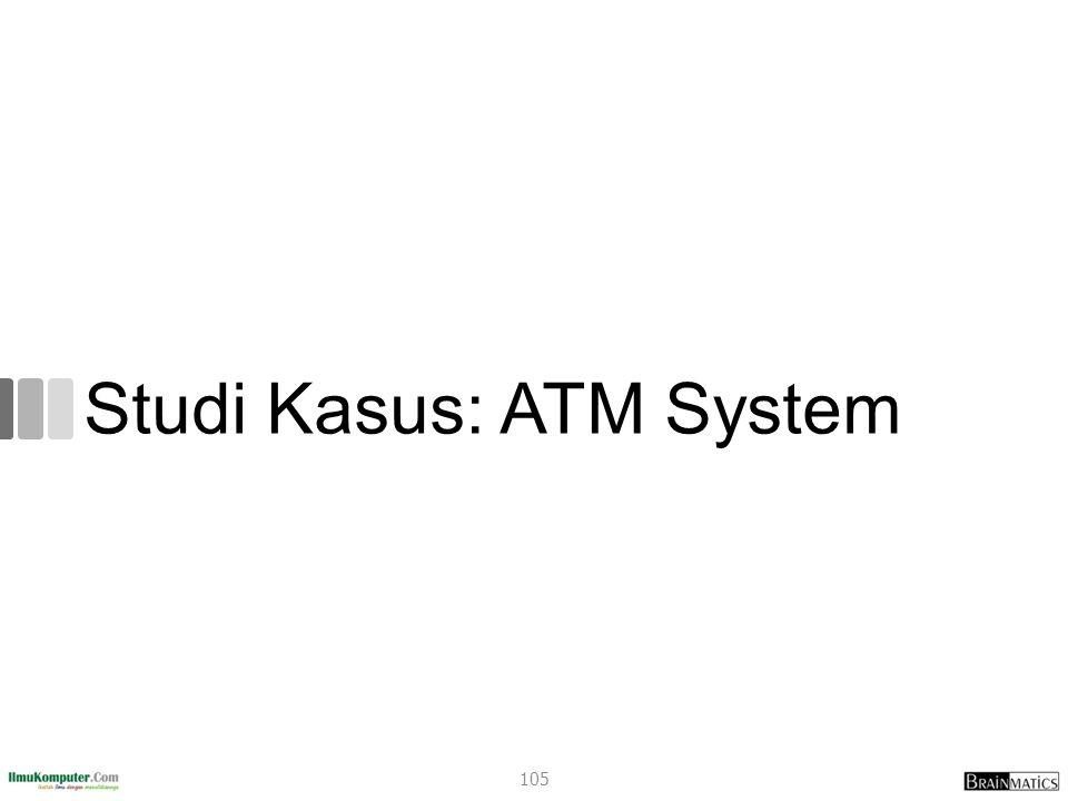 Studi Kasus: ATM System 105