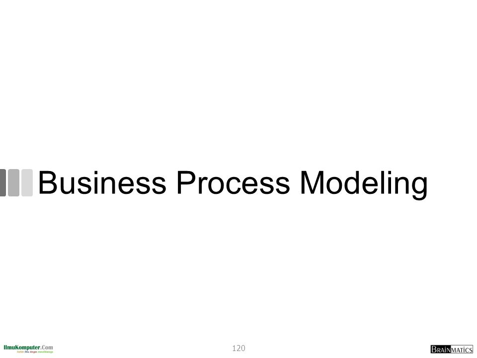 Business Process Modeling 120
