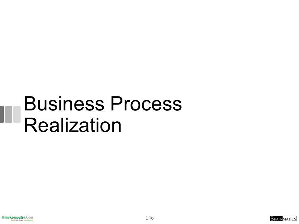 Business Process Realization 146