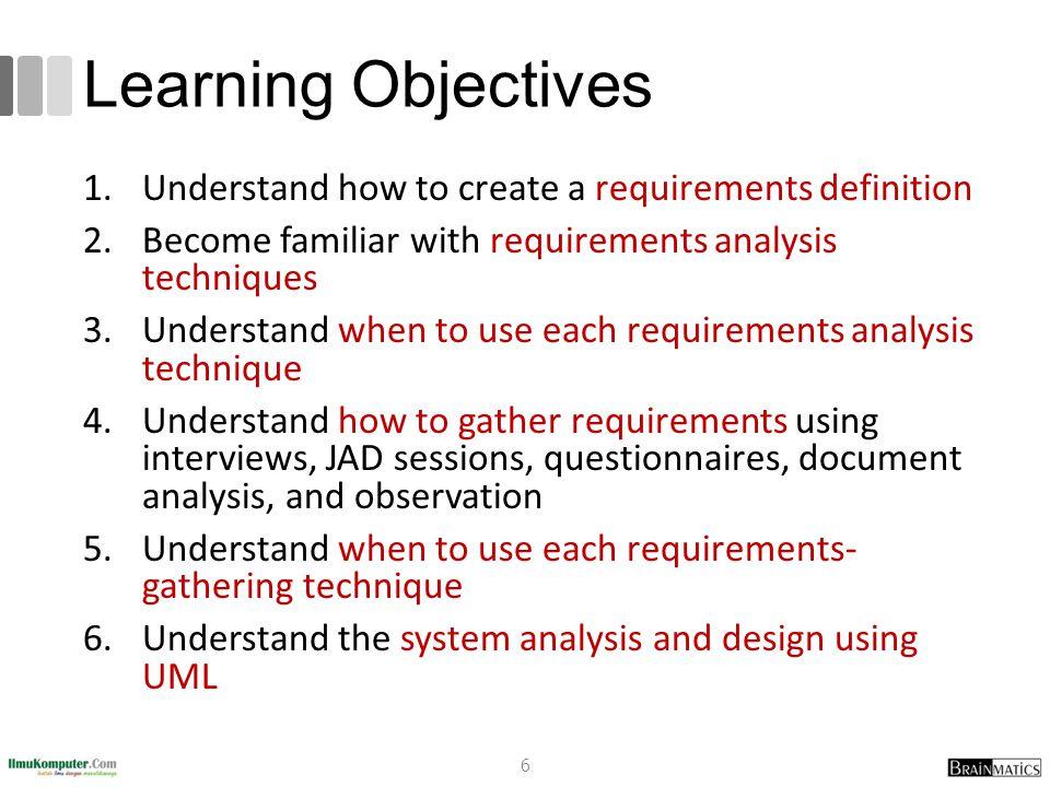 Analysis and Design using UML 37