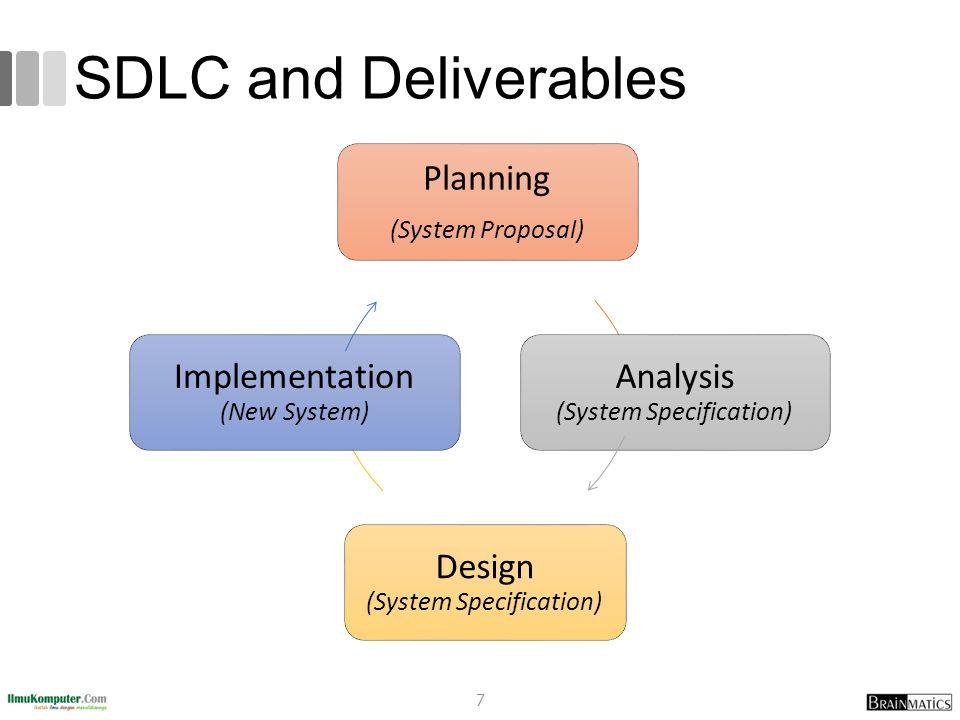 SDLC and Deliverables 7