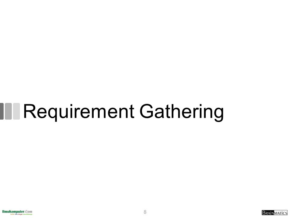 Requirement Gathering 8