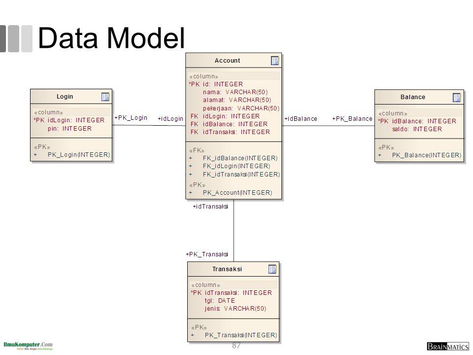 Data Model 87