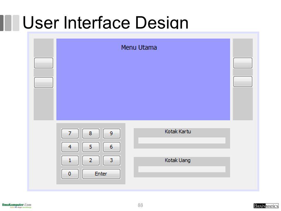 User Interface Design 88