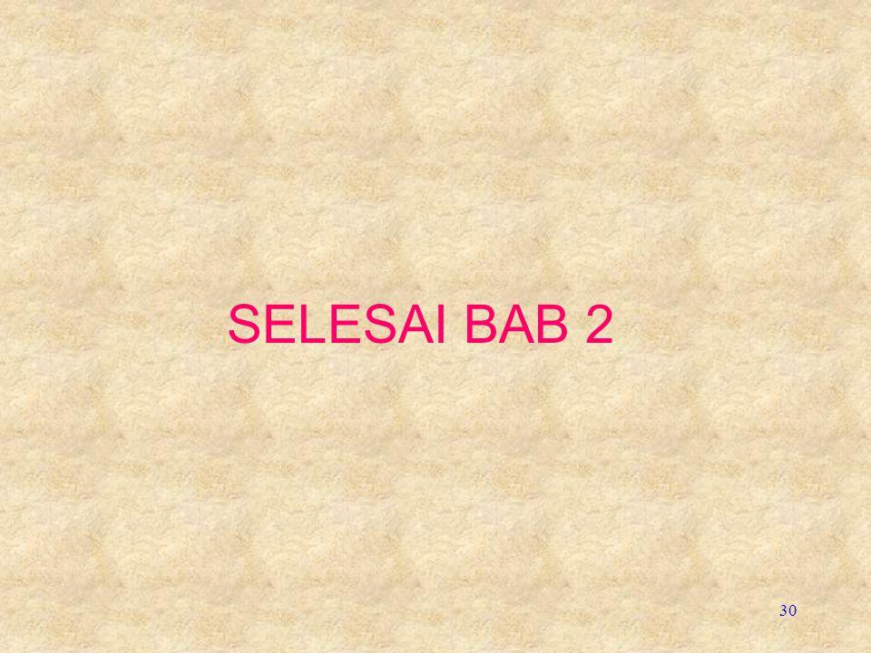 30 SELESAI BAB 2