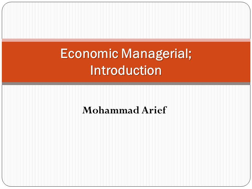 Masalah-masalah Ekonomi Ekonomi Manajerial Bisnis Barang apakah yang akan diproduksi dan berapa banyak.