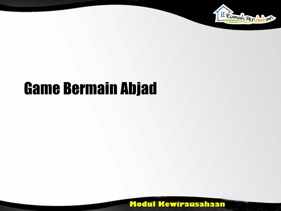 Game Bermain Abjad