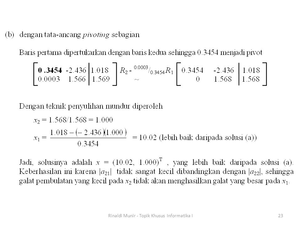 Rinaldi Munir - Topik Khusus Informatika I23