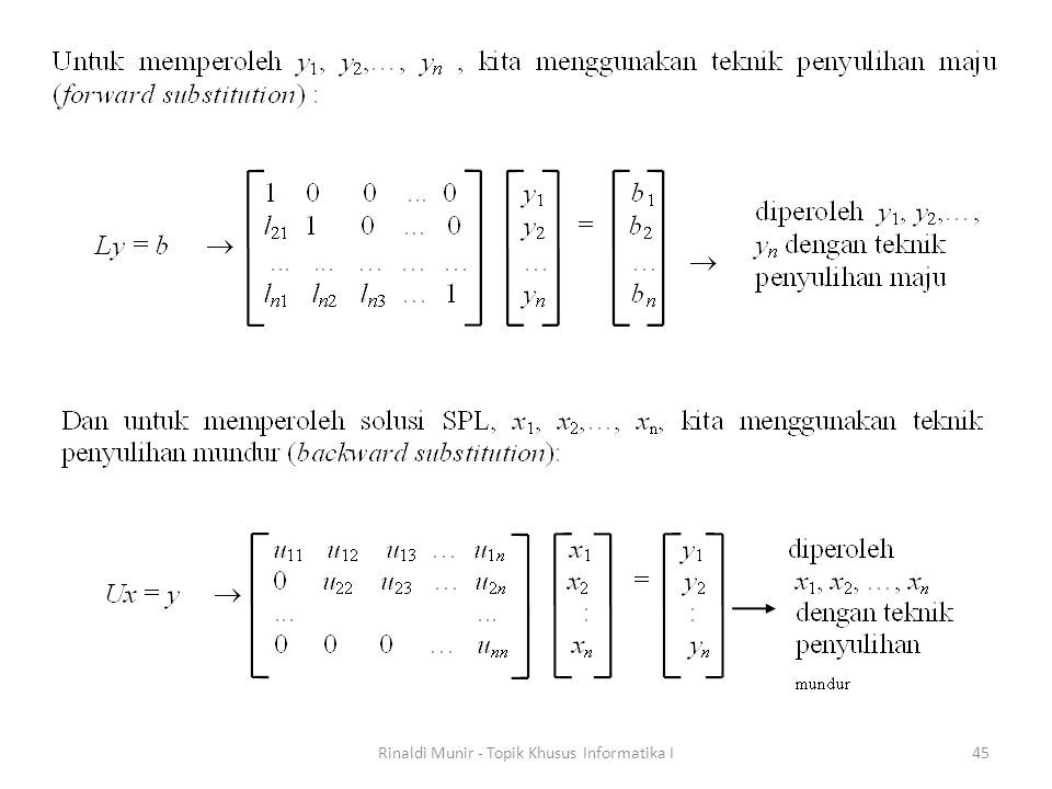 Rinaldi Munir - Topik Khusus Informatika I45