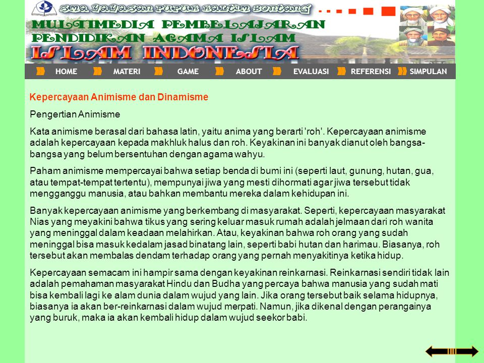 Lanjut ke penjelasan Perkembangan Islam di Sumatra 1.